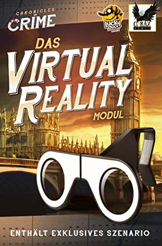 Corax Games Chronicles of Crime - VR-Brille inkl. Szenario Brettspiel deutsch