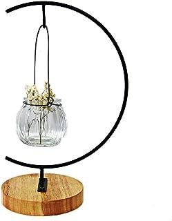 汎用 ディスプレイ スタンド 台座 インテリア 卓上 置型 スタンド 付き クリスタル ボール (Living-A124-Wood)