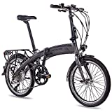 CHRISSON 20 Zoll E-Bike City Klapprad EF1