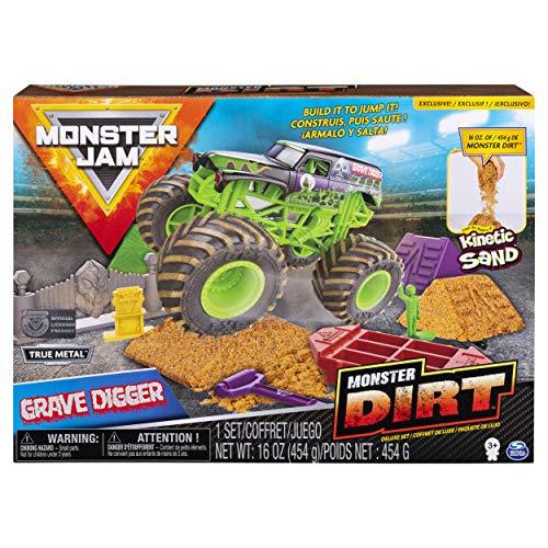 Monster Jam, Grave Digger Monster Dirt Deluxe Set Now $9.95 (Was $16.99)