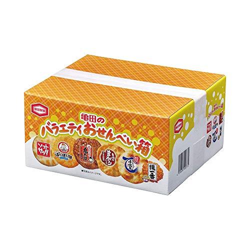 亀田製菓 BOXタイプお菓子 10077(A/バラエティオセンベイハコ)