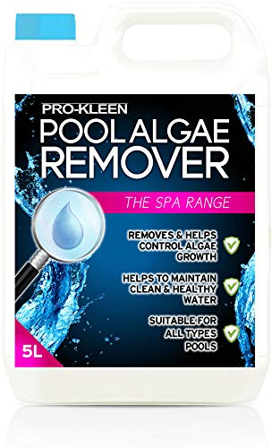 Pro-Kleen Pool Algae Remover 5L - Removes & Prevents Algae Growth - High...