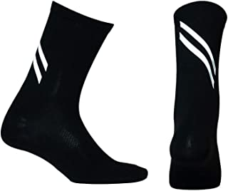 Reflective Sports Socks Athletic Socks for Running Cycling Basketball Hiking More-Night Safety Running Gear