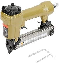 Clavadora de clavos, clavadora neumática P625 Clavadora de aire Longitud de clavadora de aire 10-25 mm Grapadora de aire de 100 piezas para clavo de grano Larga vida útil