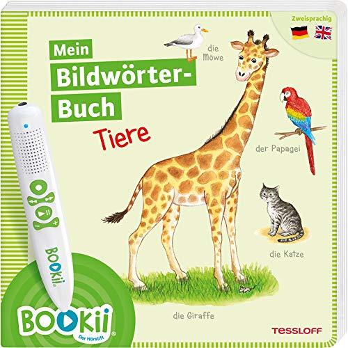 BOOKii® Mein Bildwörter-Buch Tiere: Zweisprachig Deutsch / Englisch (BOOKii / Antippen, Spielen, Lernen)