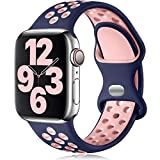 Vcegari Sports Band Compatible with Apple Watch 42mm 44mm, Soft...