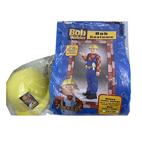 J Jones London Bob the builder Children's costume with tools