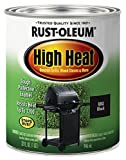Rust-Oleum 7778502 Heat Protective Enamel, Quart 32-Ounce, Bar-B-Que Black