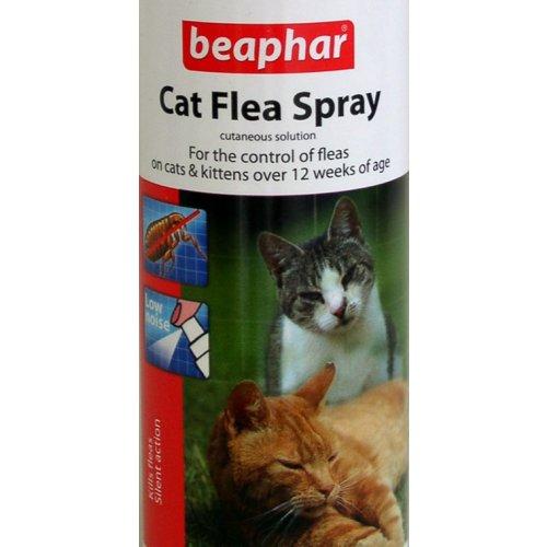 Beaphar gato Pulgas Spray 150ml de bomba pulverizador de