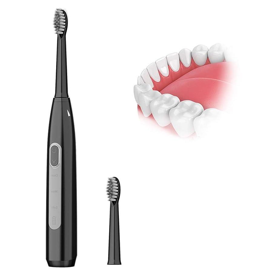 一握り淡い冷蔵庫超音波ワイヤレス充電電動歯ブラシ、防水デュポンソフトブラシヘッドロングスタンバイIPX7