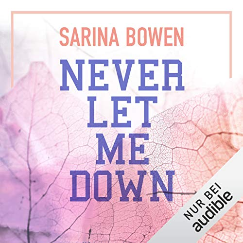 Never let me down (German edition) cover art