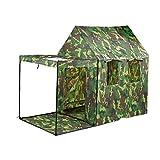 Hi Suyi Tente Pop Up Enfants Camouflage Tente de Jeu Portable pilant Militaire pour Intérieur Extérieur