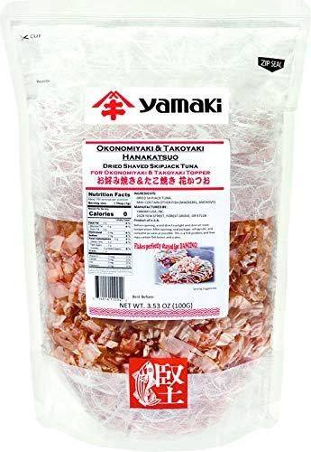 YAMAKI Okonomiyaki Super beauty product restock quality top! Takoyaki Hanakatuso 3.53 Max 85% OFF oz.