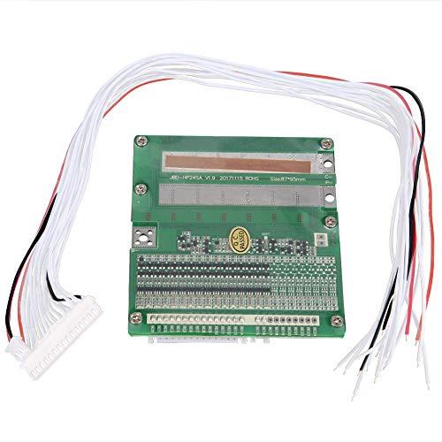Batterieschutzmodul, 16S, 3,7 V, 40 A, Lithium-Batterie-Schutzplatine mit gleichem Anschluss, BMS-Platine mit Überladung, Überentladung, Kurzschluss- und Temperaturschutz