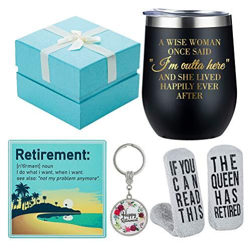 retirement gift basket - 1