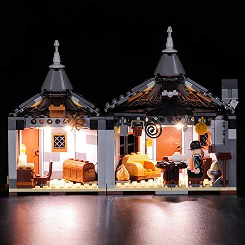 GODNECE LED Licht-Set für Baustein, Led Beleuchtungsset Licht-Set für Baustein Spielzeug Kompatibel Mit Lego 75947 Harry Potter Hagrid's Hut Bausatz (Modell Nicht Enthalten)