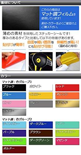 AutoPartsAgency『APiPadスキンシールマット調背面タイプ2』