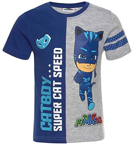 PJ MAASK T-shirt jongens Gekko, Catboy, uilet de pyjamahelden kinderen maat 98 104 110 116 128