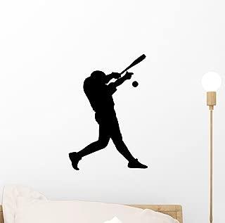 Wallmonkeys Strike One Baseball Wall Decal Peel and Stick Graphic (12 in H x 8 in W) WM47613