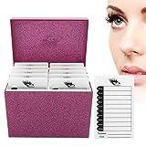 10 Layers Acrylic Eyelash Storage Box Eyelash Storage Box Eyelashes Holder Simple Classic Display Makeup Organizer for Ring, Bracelet Watch Necklace Lipsticks Brushes Skin Care Products