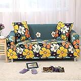 WXQY Funda de sofá elástica Flexible para Sala de Estar, se Puede Utilizar para Funda de sofá seccional en Forma de L Chaise Longue A22 de 2 plazas