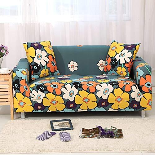 WXQY Funda de sofá elástica Funda de sofá, Funda de sofá elástica con Todo Incluido para Diferentes Formas de sofás, Funda de sofá en Forma de L para Silla A22 4 plazas