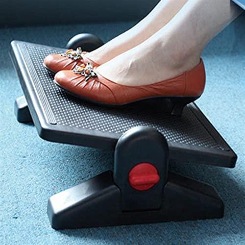 Reposapiés Cómodo reposapiés de massag bajo la mesa de descanso del pie de la mesa de descanso del pie del pie del pie de la superficie cómoda de la superficie de los pies para aliviar la fatiga del p