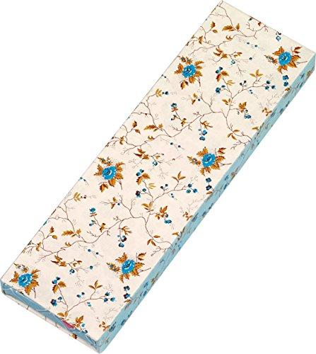 Gefährlich schön Bleistifte in Geschenkschachtel - Motiv Blaue Rose: 6 Bleistifte mit Radiergummi, 3 Motive