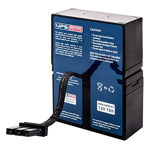 This is an AJC Brand Replacement APC Back-UPS Back-UPS 800VA 12V 9Ah UPS Battery