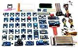 Adeept Kit de sensor definitivo de 46 módulos para Raspberry Pi 3,2 B/B+,...
