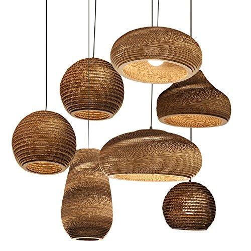 Lampadario moderno della lampada del pendente della lampada del soffitto di carta per il salone, l'hotel ed il ristorante