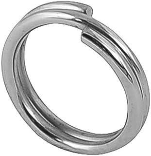 Riptail Stainless Steel Split Fishing Rings - Double Snap Loop Lure Connectors