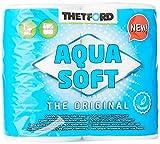 Thetford 202240 Lot de 4rouleaux de papier toilette, multicolores