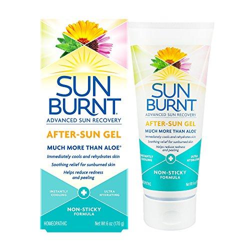 Ultra Hydrating Aloe Vera Gel by SunBurnt, With Natural Organic Aloe Vera + Calendula,...