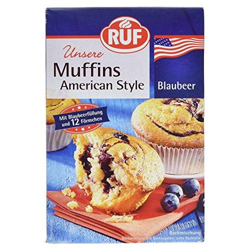 RUF Muffins American Style Blaubeer Backmischung, 325 g