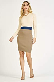 Valleygirl Color Block Knit Dress (325740)