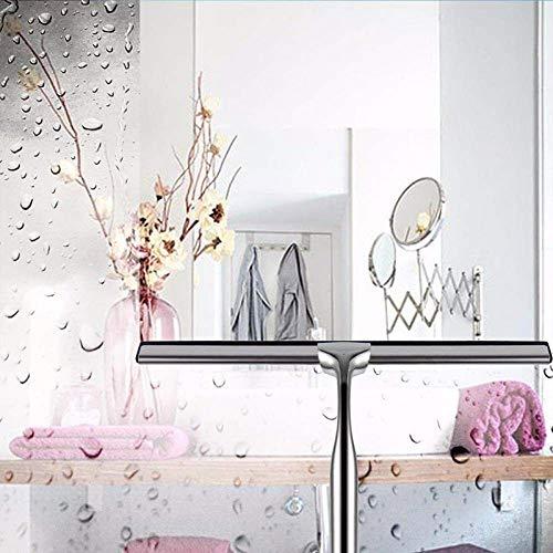 yanyingde Edelstahl duschschaber spiegelreinigung und saugnapf Haken Glas scheibenwischer