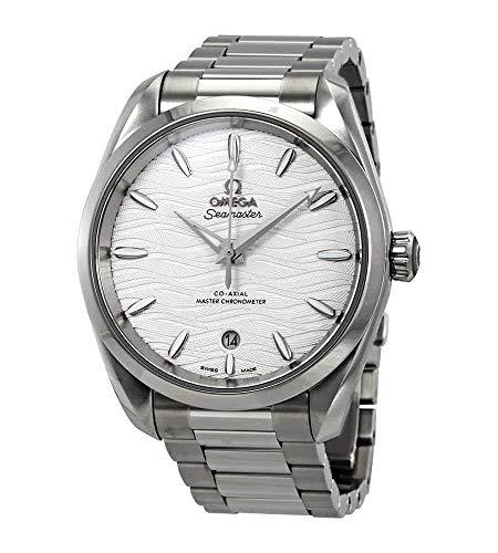 Omega Seamaster Aqua Terra Co-Axial Master cronómetro automático de plata reloj de los hombres 220.10.38.20.02.003