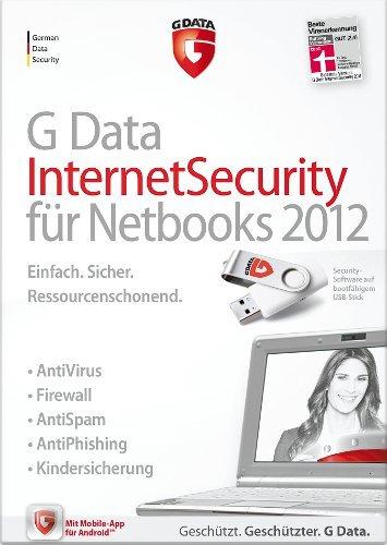 G DATA InternetSecurity Netbooks 2012 1PC [Download]
