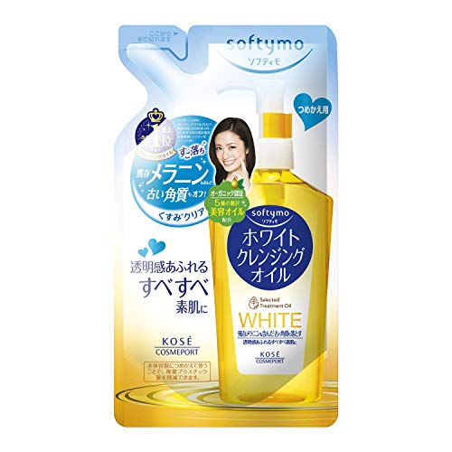 KOSE COSMEPORT softymo White Cleansing Oil Refill 200ml (japan import)