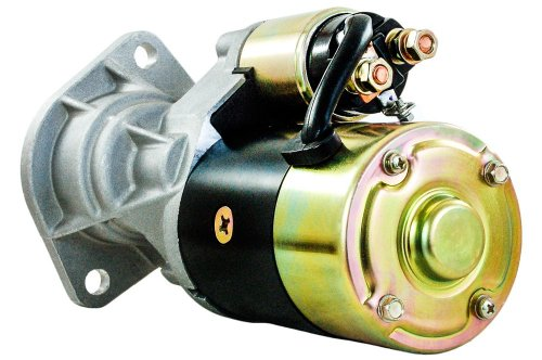 Rareelectrical NEW STARTER MOTOR COMPATIBLE WITH KOMATSU SKID STEER SK1020-D SN 37CF00004-UP YM123900-77010 S13-160 YAMAR YM123900-77010 YM12390077010 123900-77010 123900-77011 12390077010 12390077011