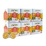 Zutec - Cápsulas de Zumo de Naranja 100% Natural - Compatibles con cafeteras Dolce Gusto* - 6...