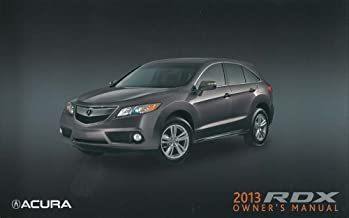 bishko automotive literature 2013 Acura RDX Owners Manual User Guide Reference Operator Book Fuses Fluids