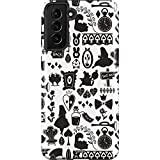 Skinit Pro Phone Case Compatible with Galaxy S21 Plus 5G - Officially Licensed Disney Alice in Wonderland Silhouette Design