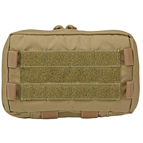 MOLLE Modular Admin Pouch (Holds End User Device, EUD - with ID Window   Compact Map Case) (Coyote Brown)