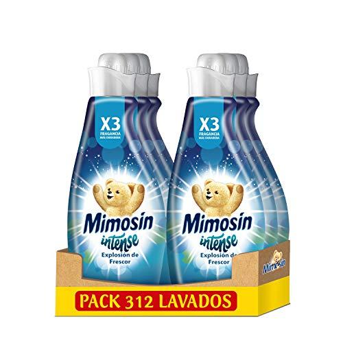 Mimosín Intense Suavizante Explosión de Frescor 52 Lavados - Pack de 6