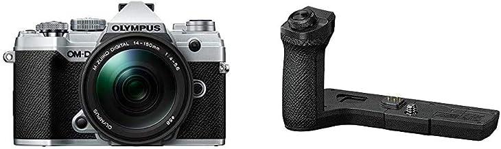 $1361 » Olympus OM-D E-M5 Mark III Silver Body with M.Zuiko Digital ED 14-150mm F4.0-5.6 II Black Lens Kit with Olympus ECG-5 Grip...