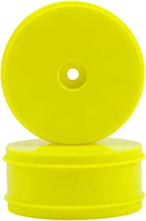 Serpent 61mm Front 1/10 4WD Buggy Wheel (Yellow) (2) (SRX-4)