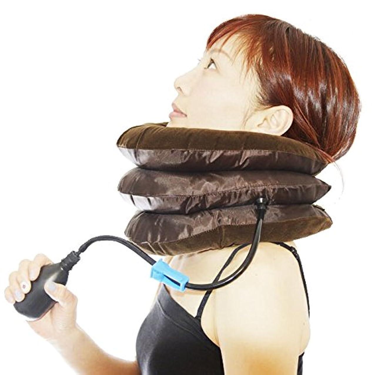 ベーコンパントリーリンケージネックサポーター ネックストレッチャー 首枕 首伸ばし