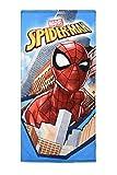 Marvel Serviette de Plage Spiderman, Serviette de Bain, 140 cm x 70...